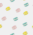 set sweet patterns seamless backgrounds vector image