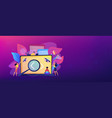 software testing it header or footer banner vector image vector image
