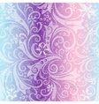 Seamless striped christmas pattern vector image