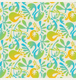 abstract tropical colorful seamless pattern vector image vector image
