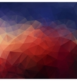 Dramatic triangle background vector image vector image
