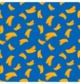 Fruits banana seamless patterns vector image