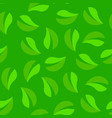 green seamless background looped texture pattern vector image