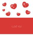 happy valentines day card happy valentines day vector image