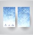 modern business card design vector image vector image