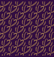 seamless doodle hearts pattern vector image vector image