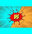 versus vs fight backgrounds vector image vector image