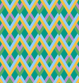 abstract zigzag linear pattern vector image