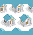 bank buildings seamless background backdrop for vector image