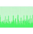 city greenscape halftone vector image vector image