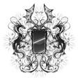 dragon mirror vector image