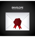 envelope seal design vector image