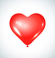 Heart balloon vector image