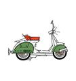 icon bike vector image vector image