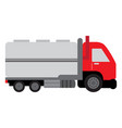 isolated truck icon vector image vector image