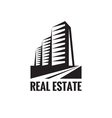 Real Estate - logo concept design vector image vector image