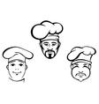 Restaurant chefs vector image vector image