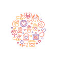 charity care help concept nonprofit and vector image