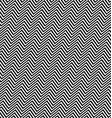 Black white angular seamless zig zag line pattern vector image vector image