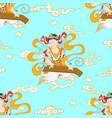 bodhisattva vector image