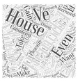 Does Your House Need a Kitchen Remodel Word Cloud vector image vector image