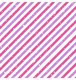 valentines day diagonal striped pink and purple vector image