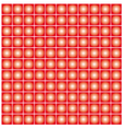 Red dot background vector image