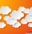Abstract clouds vector image vector image