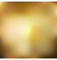 abstract gold blurred gradient style background vector image vector image