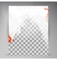Beautiful Flyer vector image vector image