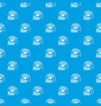 color print pattern seamless blue vector image vector image