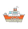 icon ship vector image vector image