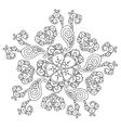 Mendie Mandala vector image