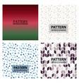 set of abstract stylish pattern stylish pattern vector image vector image