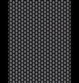 Brushed metal aluminum black dark flake texture vector image