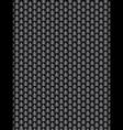 Brushed metal aluminum black dark flake texture vector image vector image