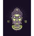 buddha 1 vector image vector image