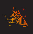 celebrations icon design vector image