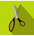 Dressmake shear flat icon vector image