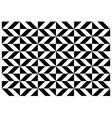 Geometric diamond pattern vector image vector image