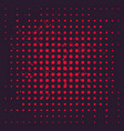 halftone background with red dots vector image vector image