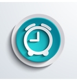 modern blue circle icon Web element vector image vector image