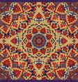 ornamental pattern with mandala vector image vector image