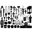 Set of religious elements vector | Price: 1 Credit (USD $1)