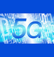 5g wireless network security threat futuristic vector image vector image