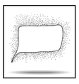 Bubble icon sketch vector image