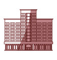 building hotel tourism vector image vector image