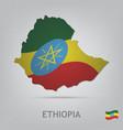 ethiopia vector image vector image