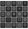 Monogram sign logo and emblem badge collection vector image