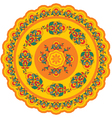 Oriental - Indian - Pattern Rosette vector image vector image